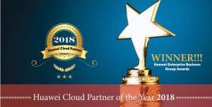 CloudFlex Huawei Cloud Partner of the Year 2018