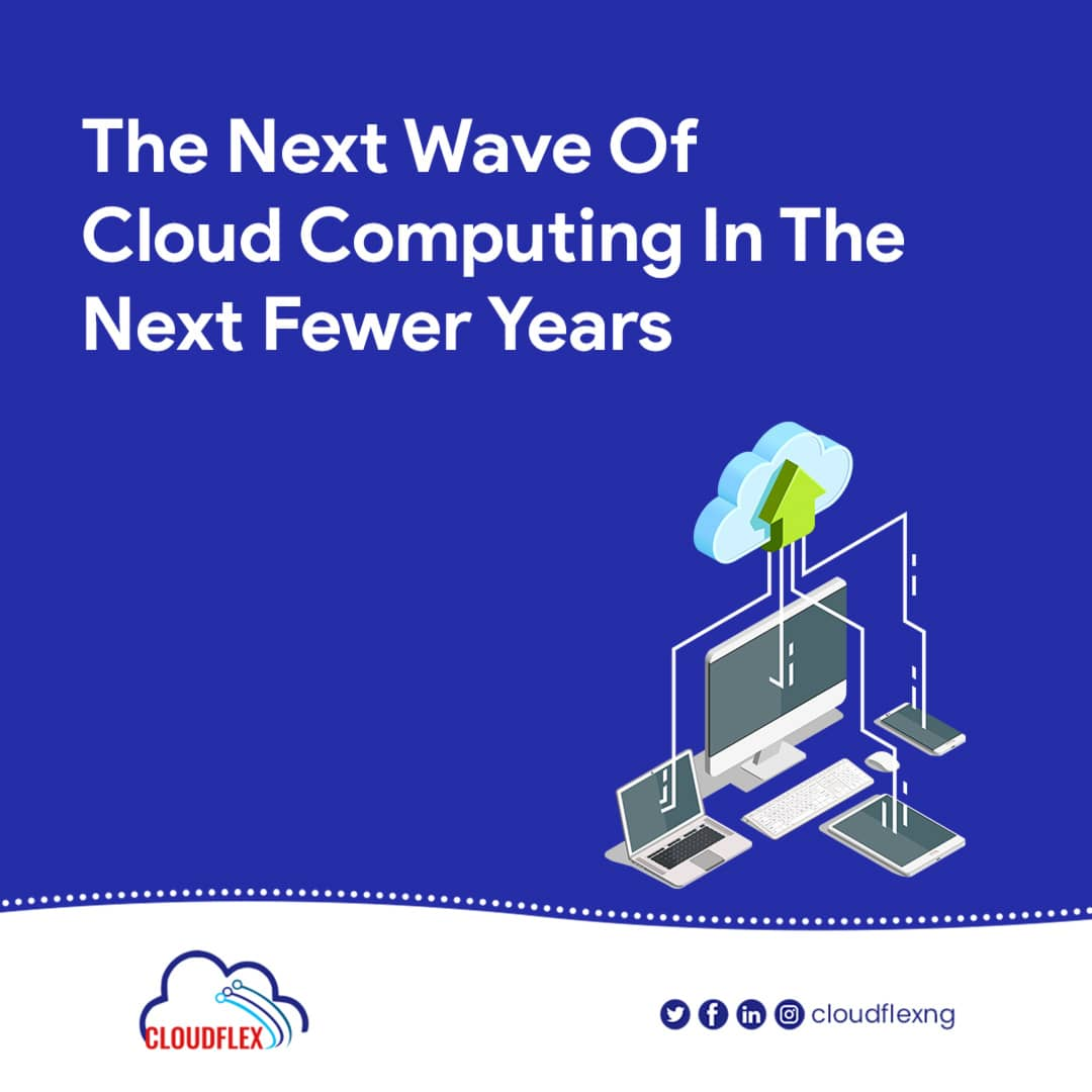 The next wave of Cloud computing in the next fewer years.
